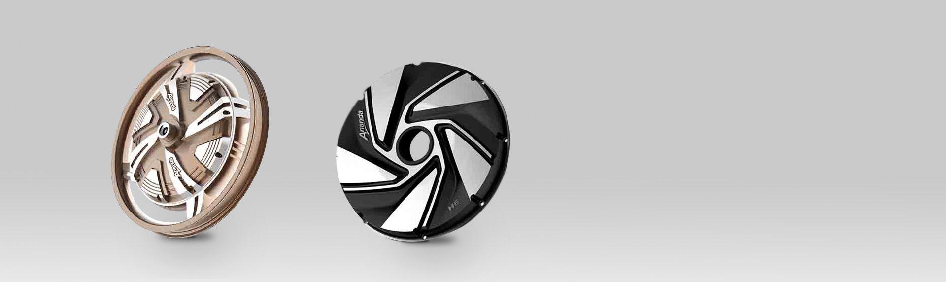 欧意设计-电动车电机轮毂