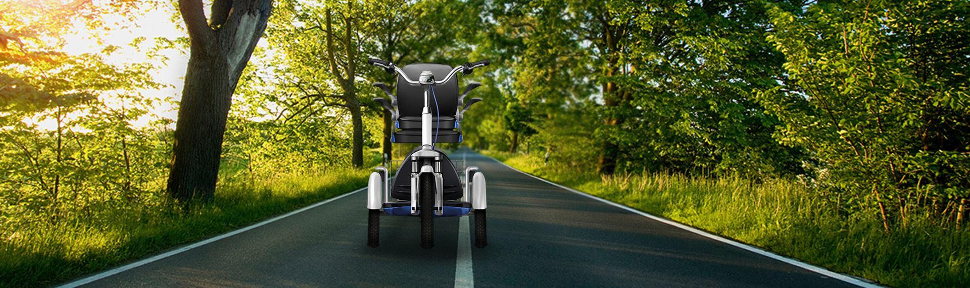 谷歌设计-老人代步车