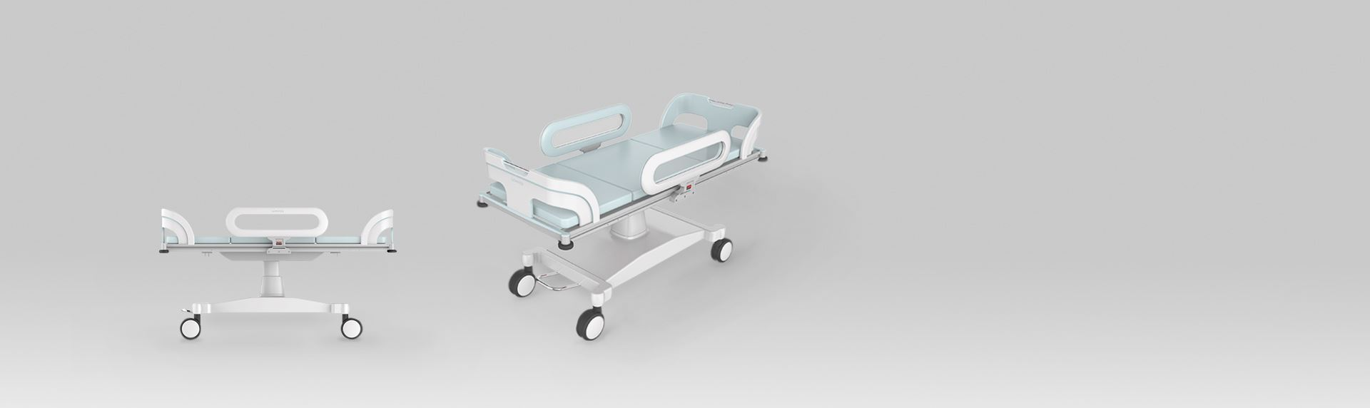 欧帝设计-婴儿转换车 ICU护理床