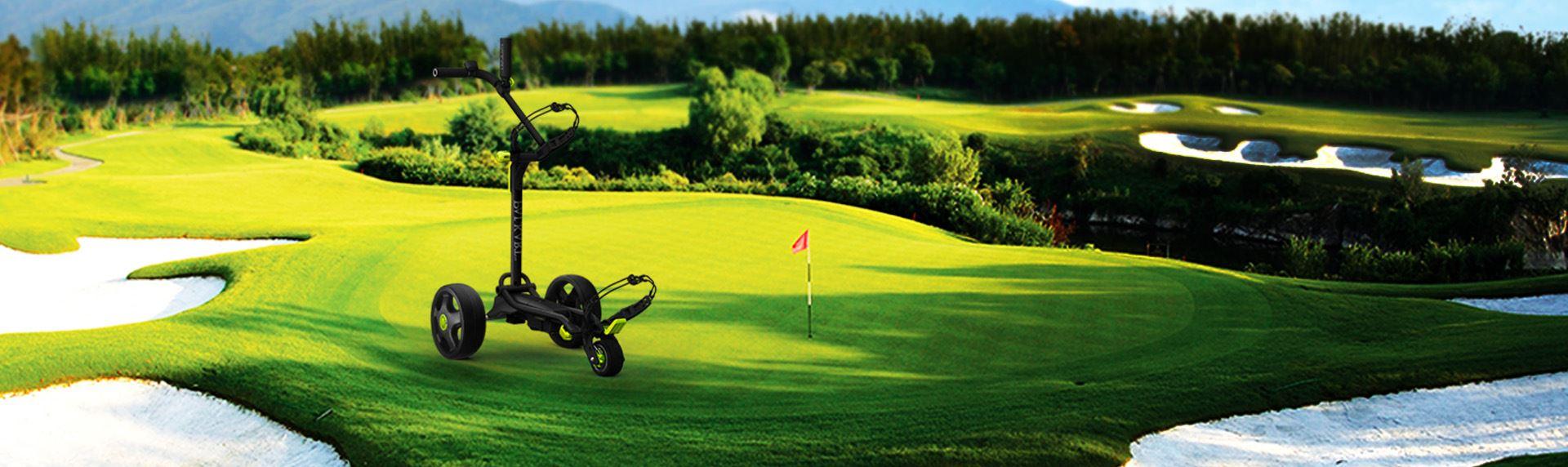 全球AU设计-电动高尔夫球包车