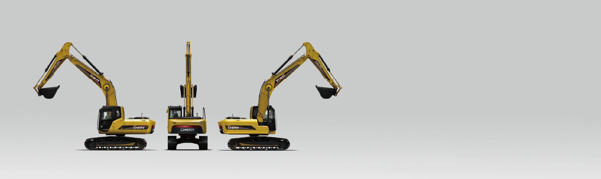 全球AU设计-奇瑞挖掘机